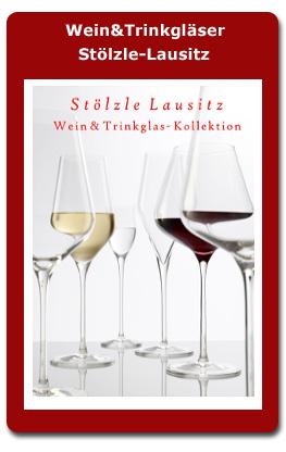 Wein und Trinkgläser