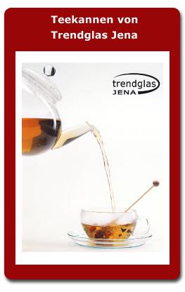 Teekannen von Trendglas Jena